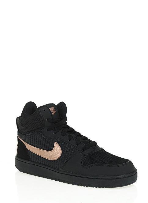 Nike Nike Court Borough Mid Prem Siyah